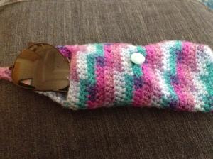 Sunglasses in Crochet Case